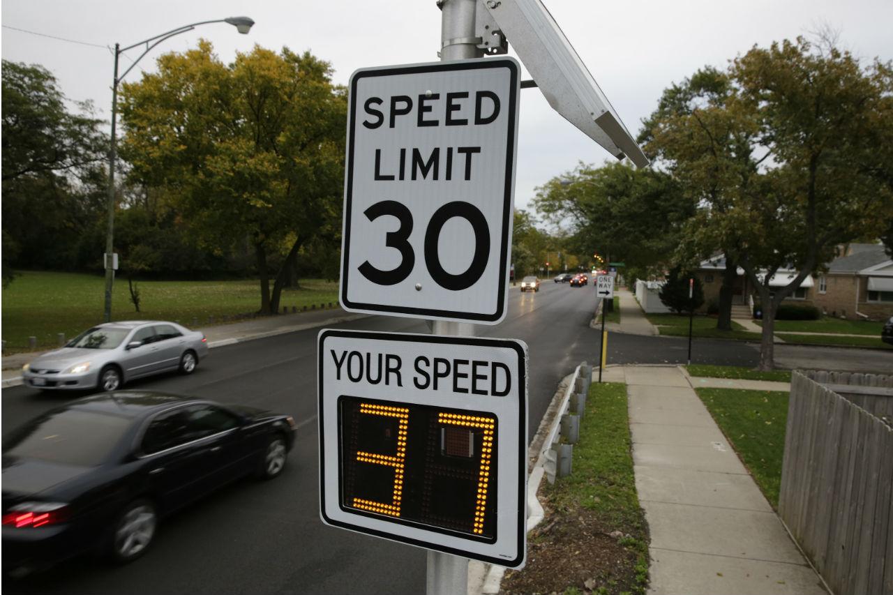 límites de velocidad