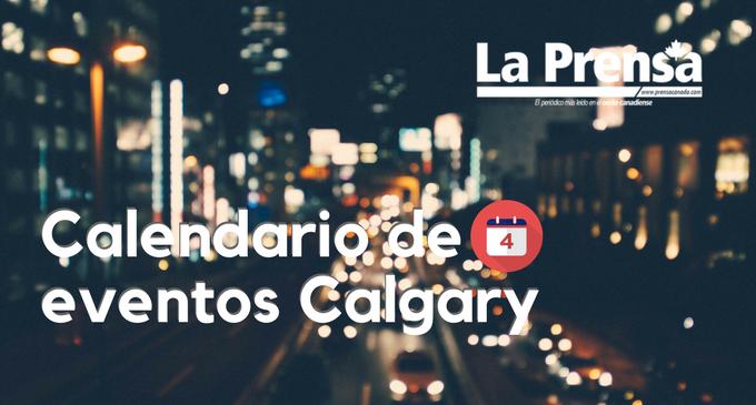 Calendario eventos agosto en Calgary