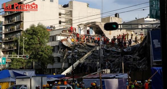 El terremoto del 19 de septiembre en México suma 343 muertes