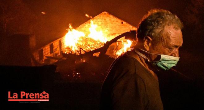 Cambios de clima favorecen el control de los incendios en Portugal y España