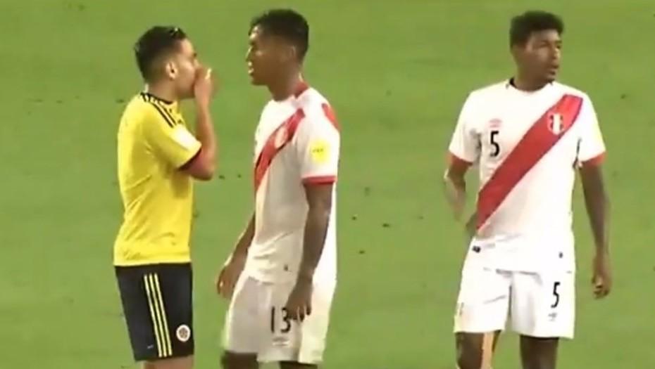 Rumores en el partido Colombia-Perú