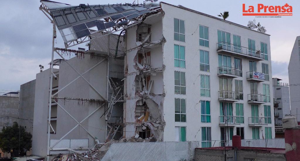Primer arresto en México luego del sismo debido a la mala construcción