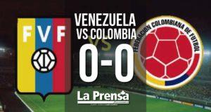 Venezuela vs Colombia 0-0