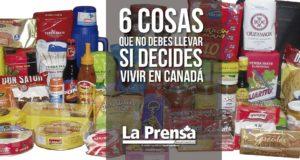 Las 6 cosas que no debes llevar si decides vivir en Canadá