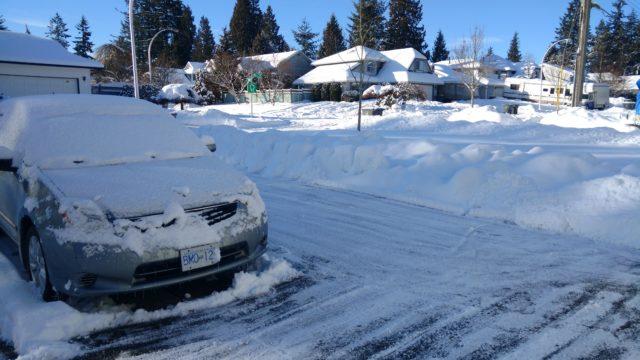 La ciudad expande la salinización de las carreteras para combatir el hielo