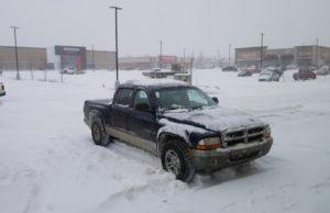 Tormenta de nieve en Edmonton - St. Albert - Sherwood Park