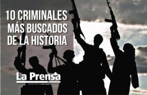 10 criminales más buscados de la historia