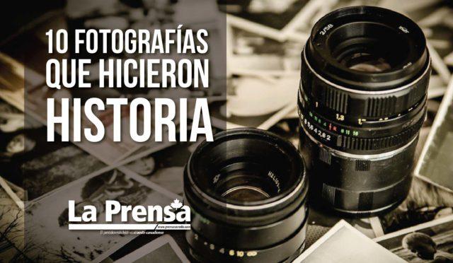 10 Fotografías que hicieron historia