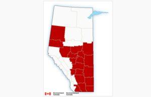 Alerta de frío extremo con temperaturas cercanas a -40 C en Edmonton
