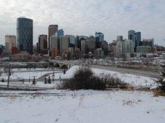 Advertencia de nevadas y lluvia helada en Calgary