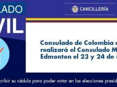 Consulado Móvil colombiano será instalado en Edmonton esta semana