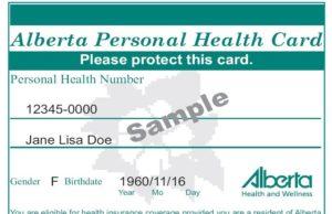 Gobierno de Alberta no actualizará las antiguas tarjetas de salud de la provincia