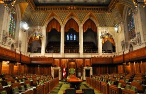 House of Commons votantes