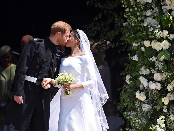 El primer beso de Harry y Meghan