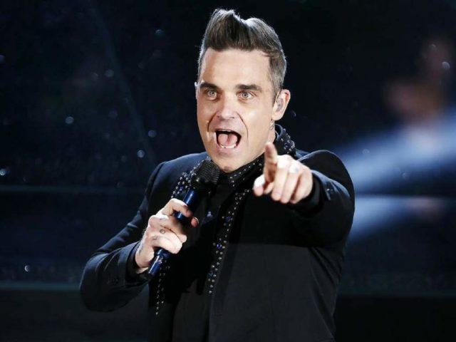 Robbie Williams ceremonia