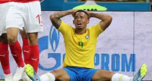 Brasil Alemania andar