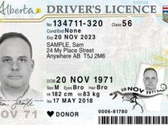 Nuevas características de seguridad en el rediseño de licencias de conducir de Alberta