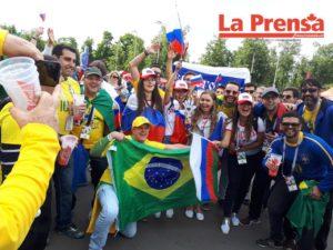 Latinos Luzhniki inaugural