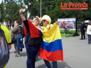 Latinoamericanos jornada inaugural