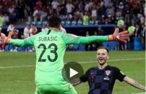 Inglaterra - Croacia semifinal