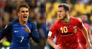 Francia - Belgica tercera