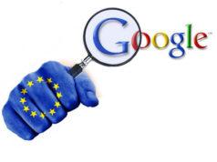 Unión Europea Multa Google