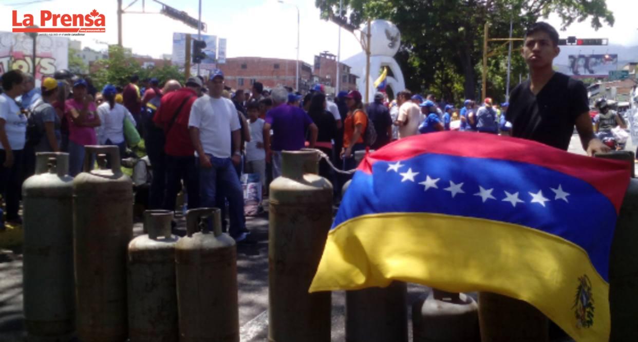 Escasez de gas doméstico Venezuela