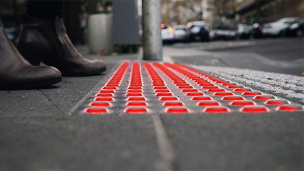 semaforos de suelo en Chile