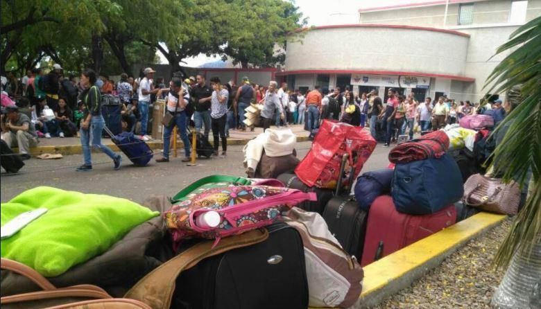 éxodo de venezolanos hacia Colombia