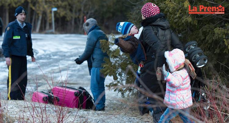 ola migratoria en Quebec