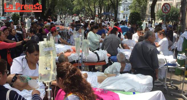Otro sismo de magnitud 7,1 deja al menos 49 muertos en México