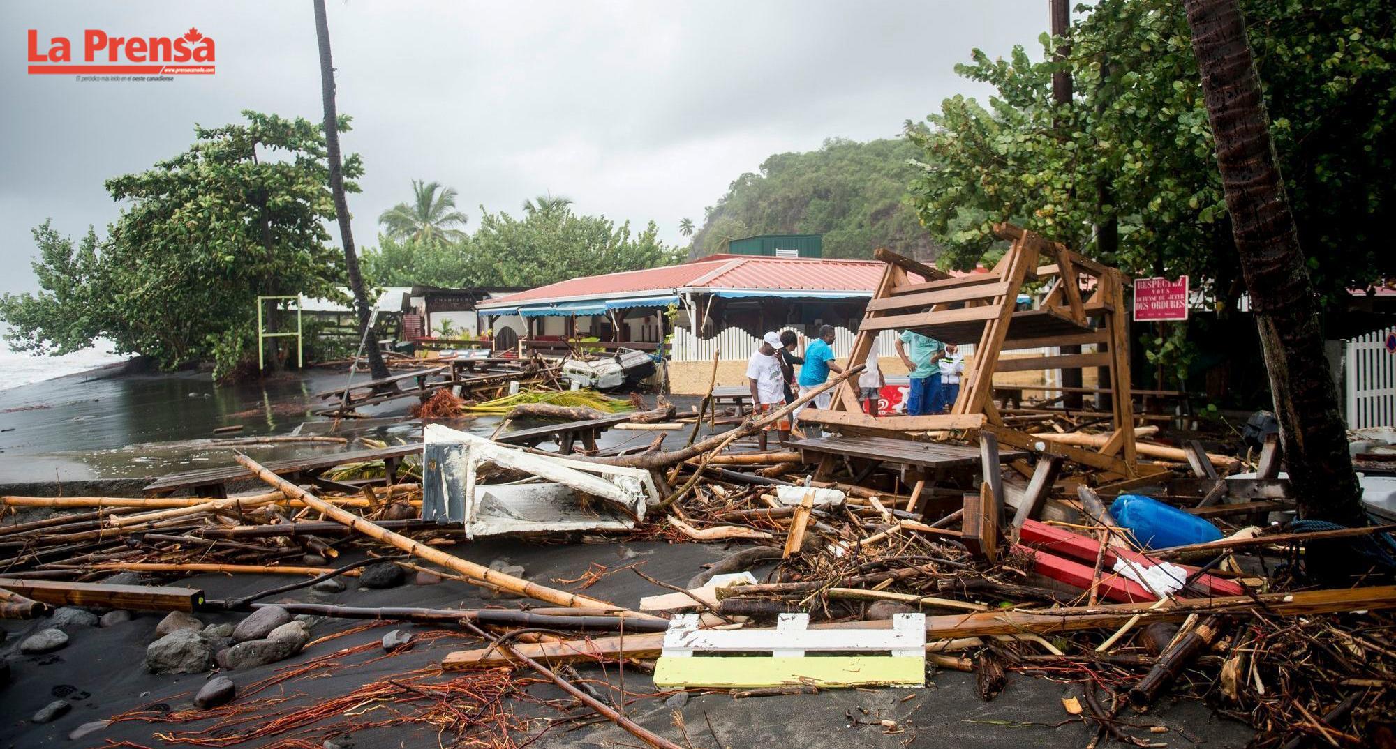 Huracán María causa caos en Puerto Rico