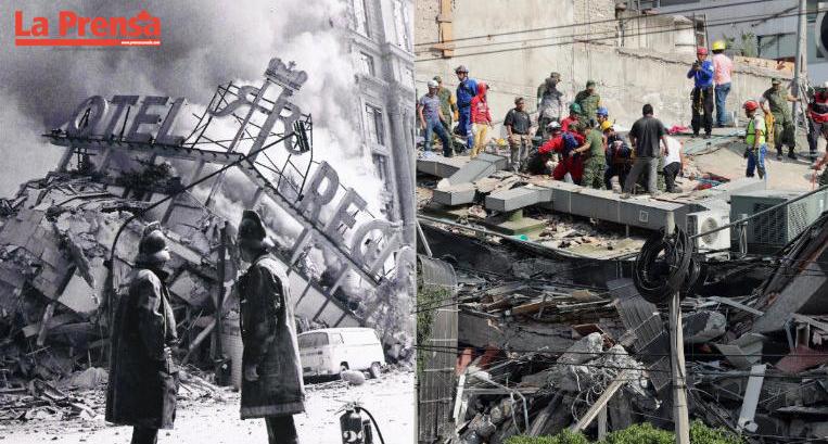 32 años después se repite la devastación en la historia de México