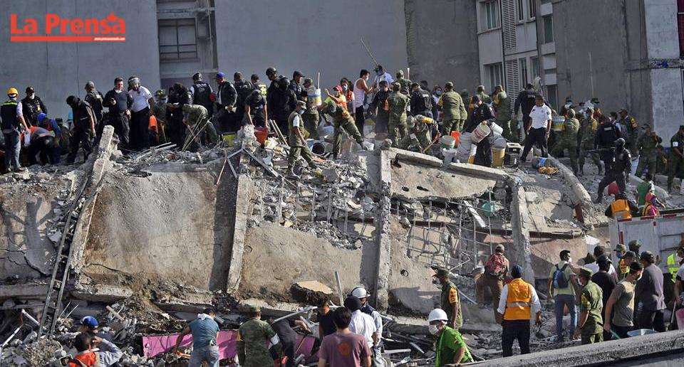 México se centra en encontrar nuevos sobrevivientes del terremoto