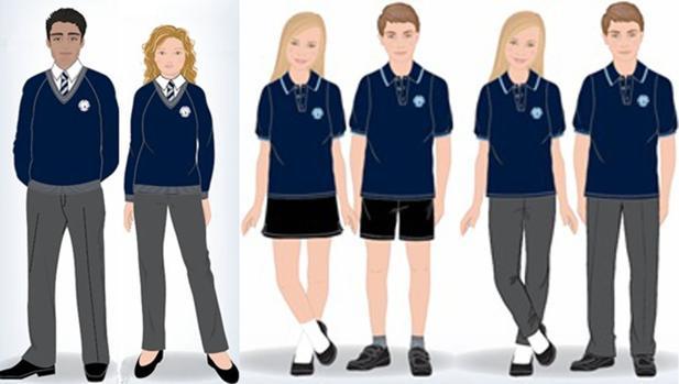 uniforme de genero neutro