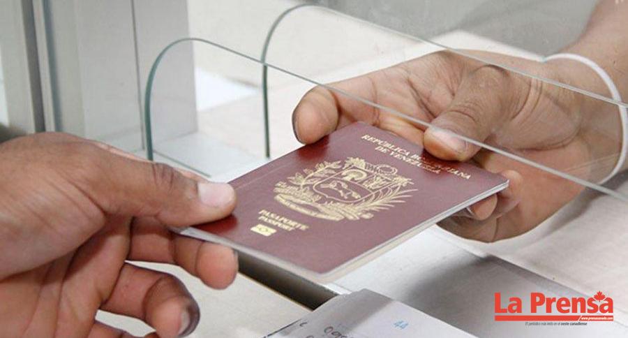 Gobierno de Venezuela prorroga por dos años los pasaportes vencidos