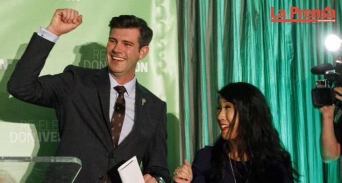 Don Iveson reelecto como alcalde de Edmonton