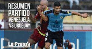 Resumen partido Venezuela vs Uruguay