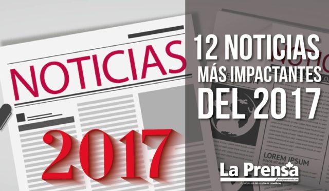 12 noticias más impactantes del 2017