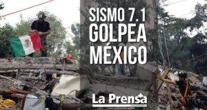 Sismo 7.1 golpea México
