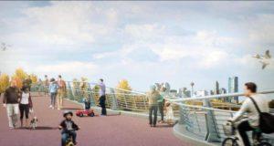 Se abre el nuevo puente del zoológico, reconectando Bridgeland e Inglewood