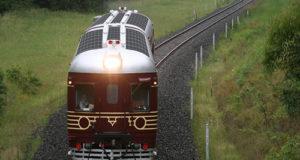 Australia inaugura el primer tren impulsado con energía solar del mundo