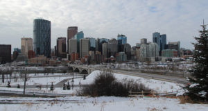 Advertencia de nevadas y lluvia helada en Calgary