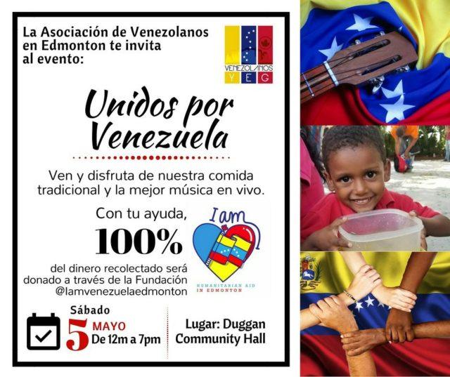 Jornada benéfica unidos por venezuela