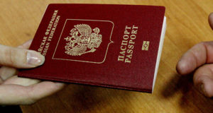 Pasaporte Rusia