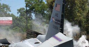 Avión militar estadounidense C-130 se estrella en Georgia