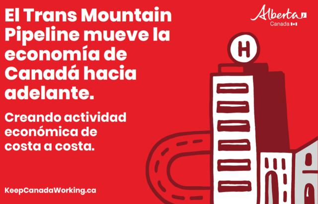 Todos los canadienses deben unirse para apoyar el Trans Mountain Pipeline