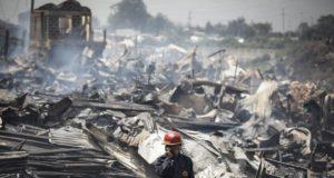 Al menos 15 personas murieron y 70 resultaron heridas tras un incendio en un mercado de Nairobi