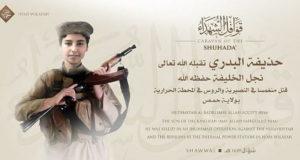 Muerte hijo lider ISIS