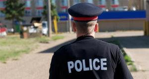 Policía Edmonton niños